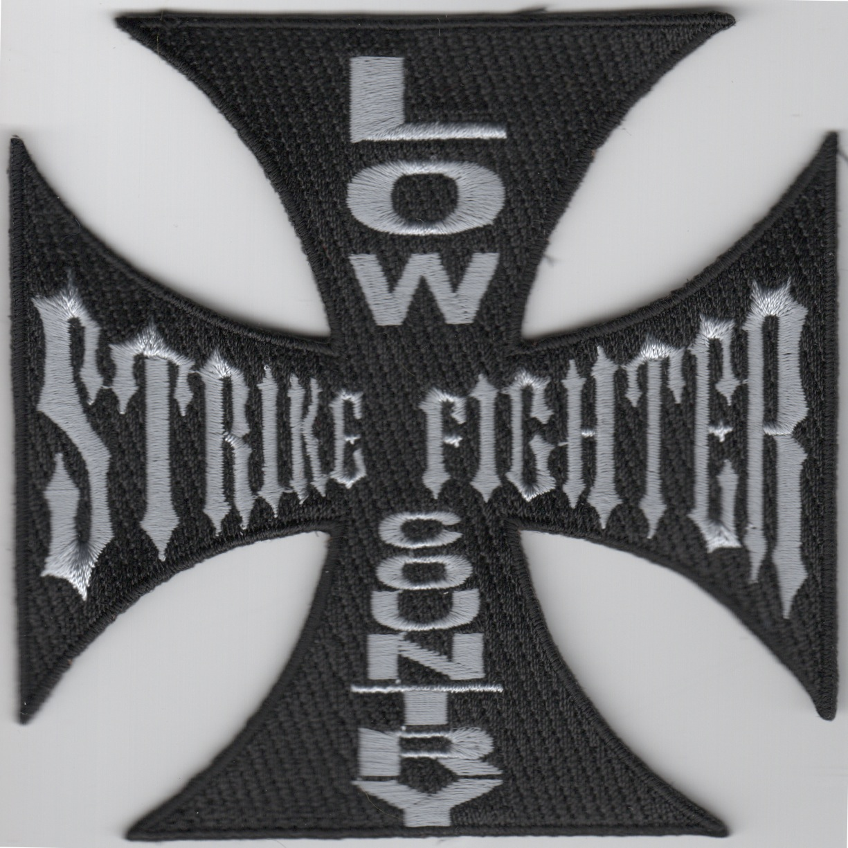 Low Country Strike Fighter Maltese Cross (Black)