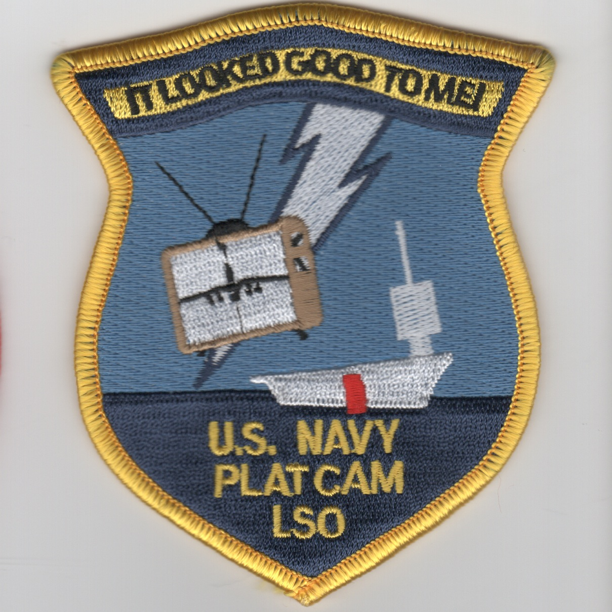 VAQ-137 PLAT-CAM LSO Patch