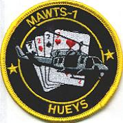 MAWTS-1 'Hueys' Patch (Blk/Ylw)
