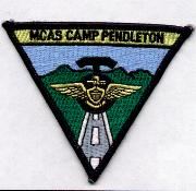 MCAS Pendleton Base Patch