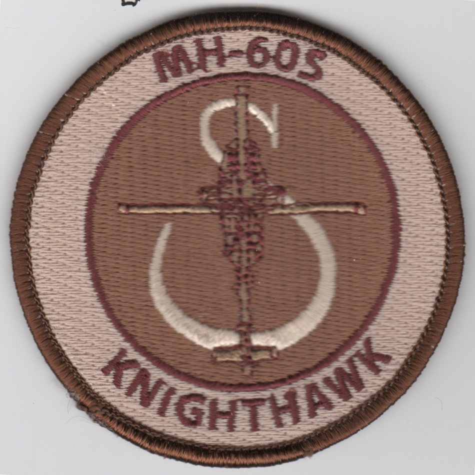 MH-60S 'KnightHawk' Bullet Patch (Des)