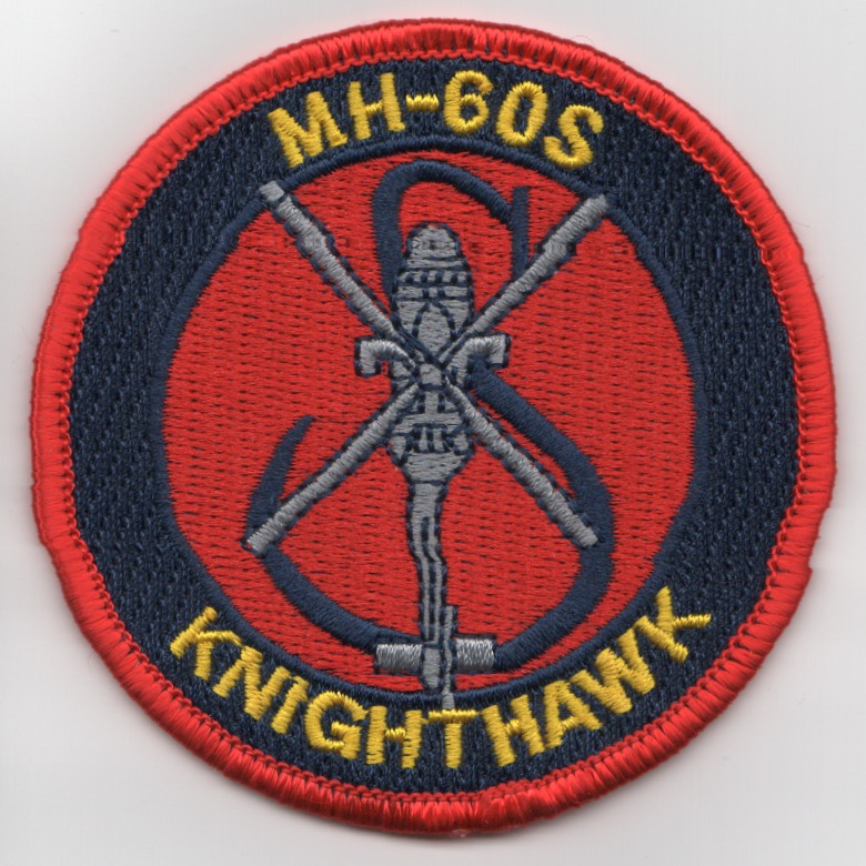 MH-60S 'KnightHawk' Bullet Patch (Red)