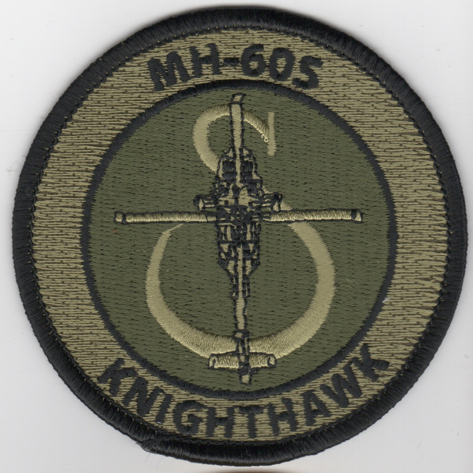 MH-60S 'KnightHawk' Bullet Patch (Subd)