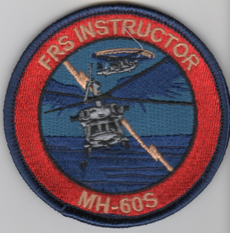 MH-60S 'FRS Instructor' Bullet Patch (BLU Border)