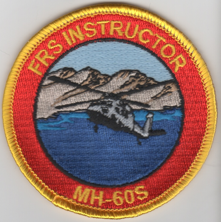 MH-60S 'FRS Instructor' Bullet Patch (YLW Border)