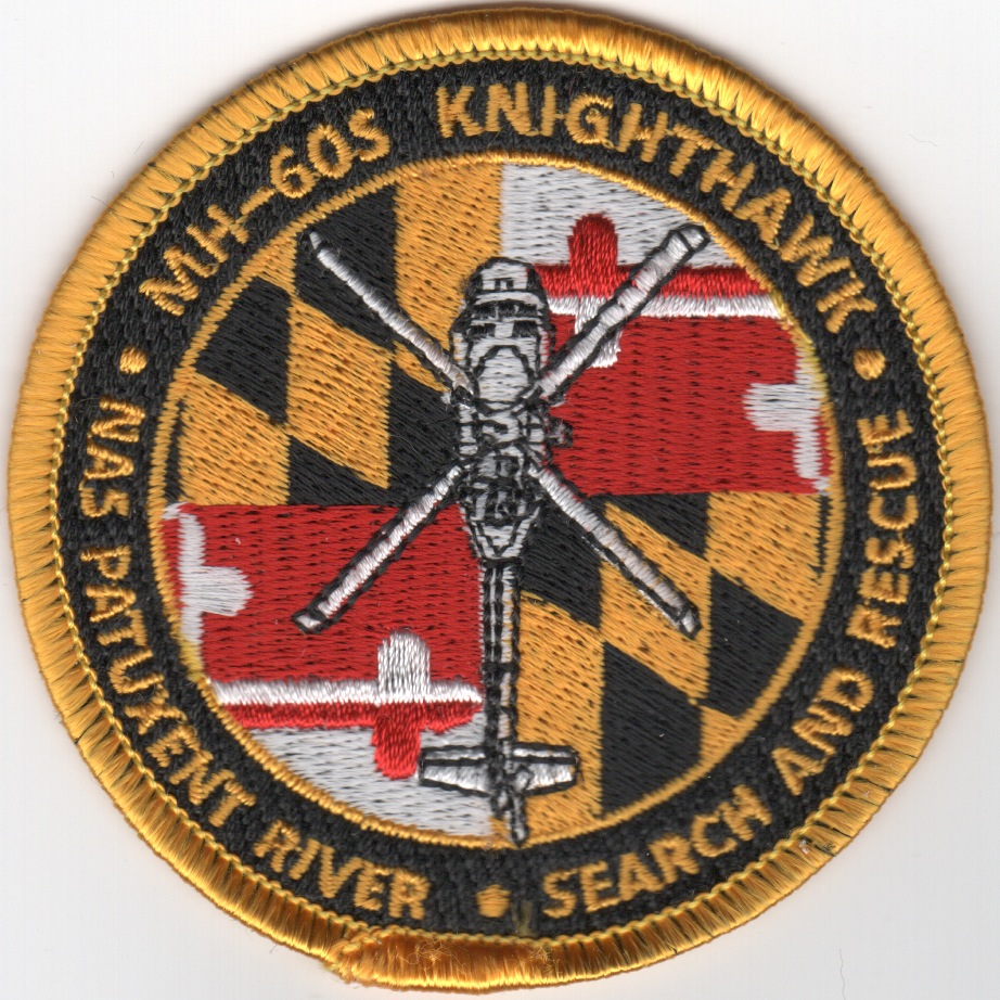 MH-60S 'SAR' (MD Flag) Patch