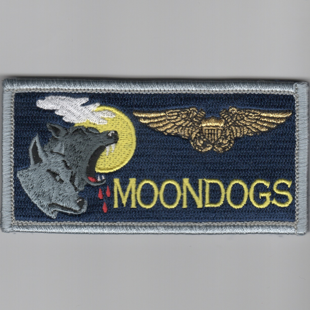 'MOONDOGS' ECMO Nametag (Blue)