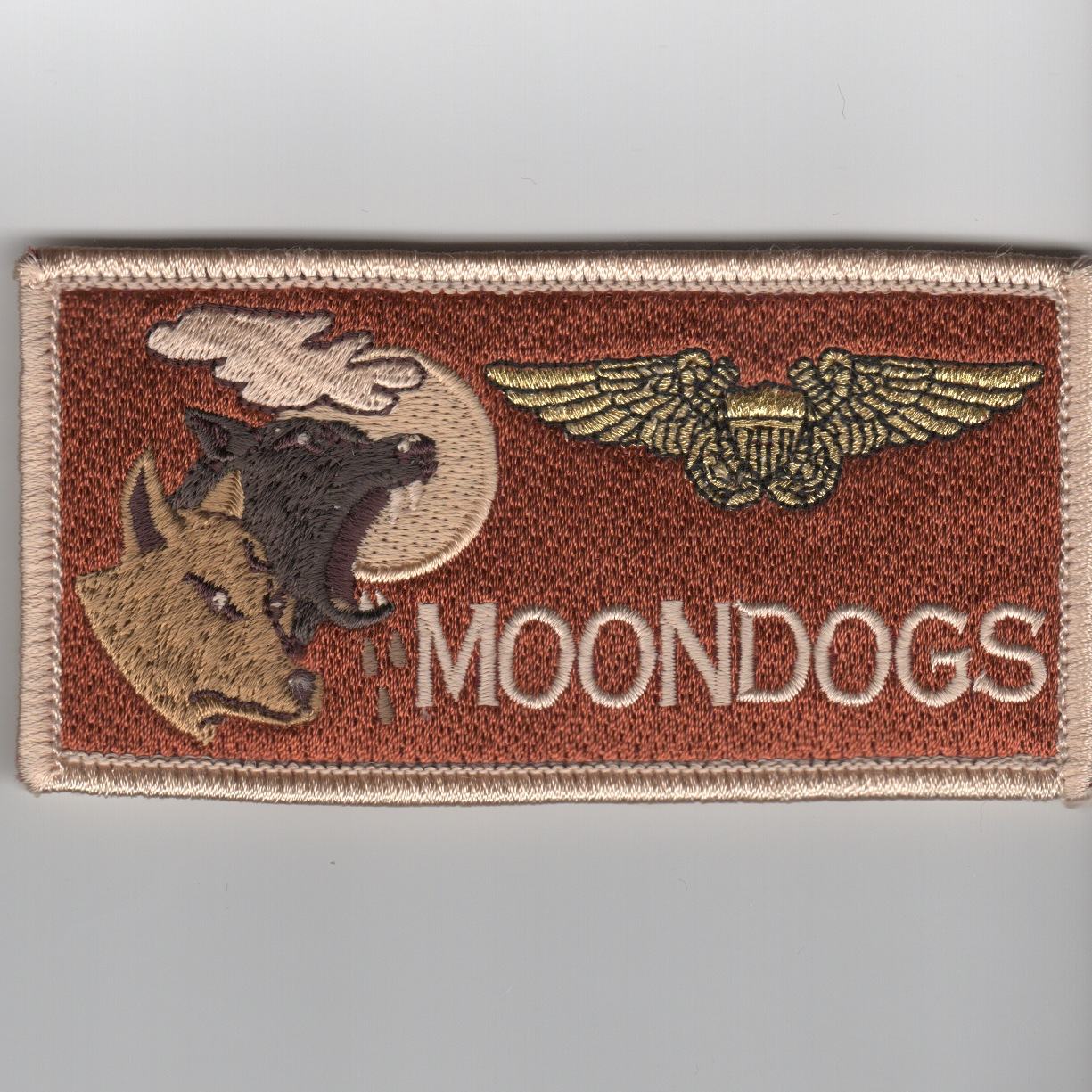 'MOONDOGS' ECMO Nametag ('LIGHT' Des)