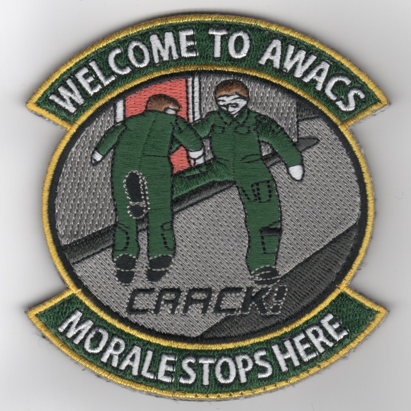AWACS 'Morale Stops Here' Patch