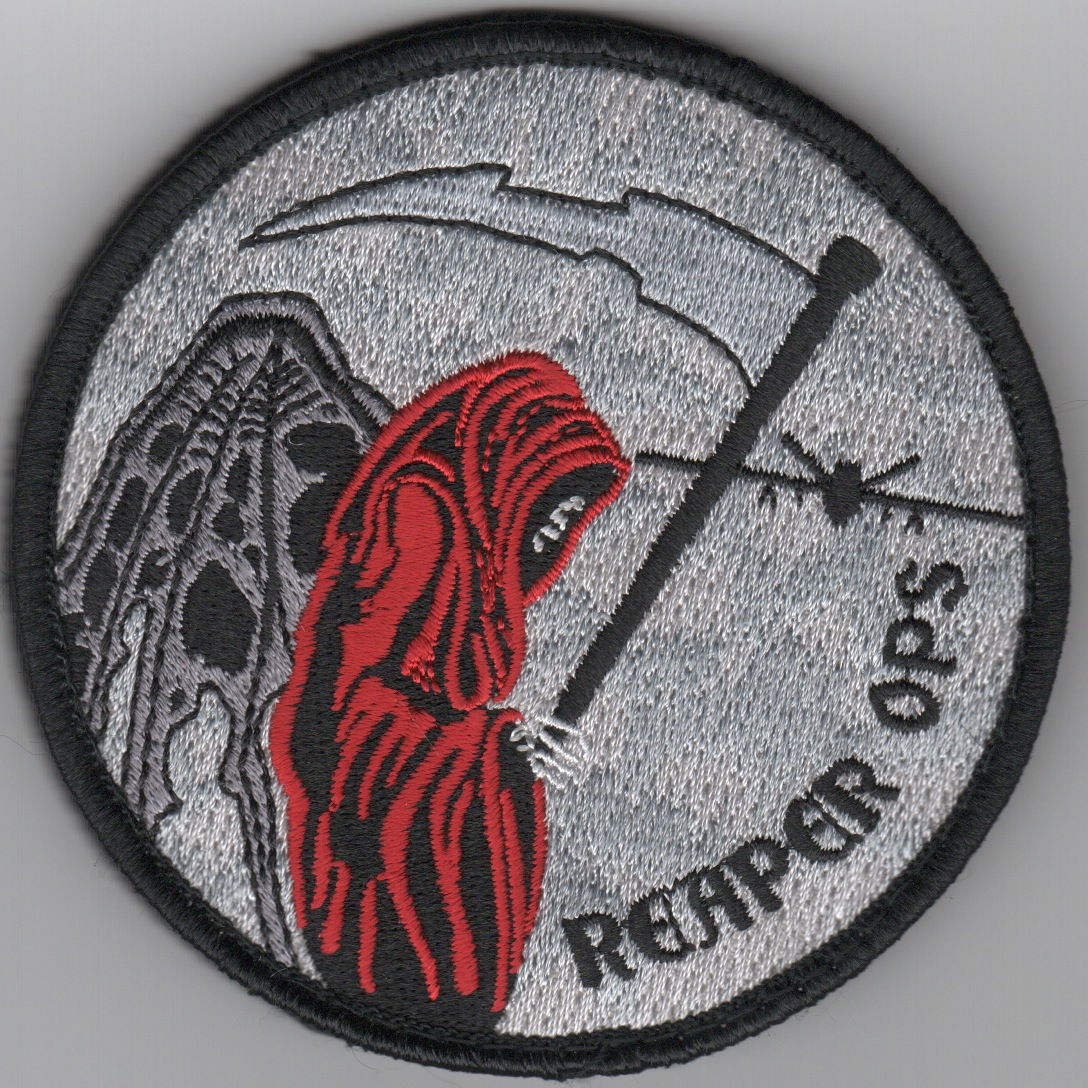 MQ-9 'REAPER OPS' Patch (Gray)