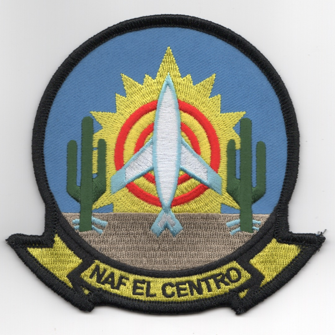 NAF El Centro Base Patch (Blue)