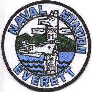Naval Station Everett, WA Patch