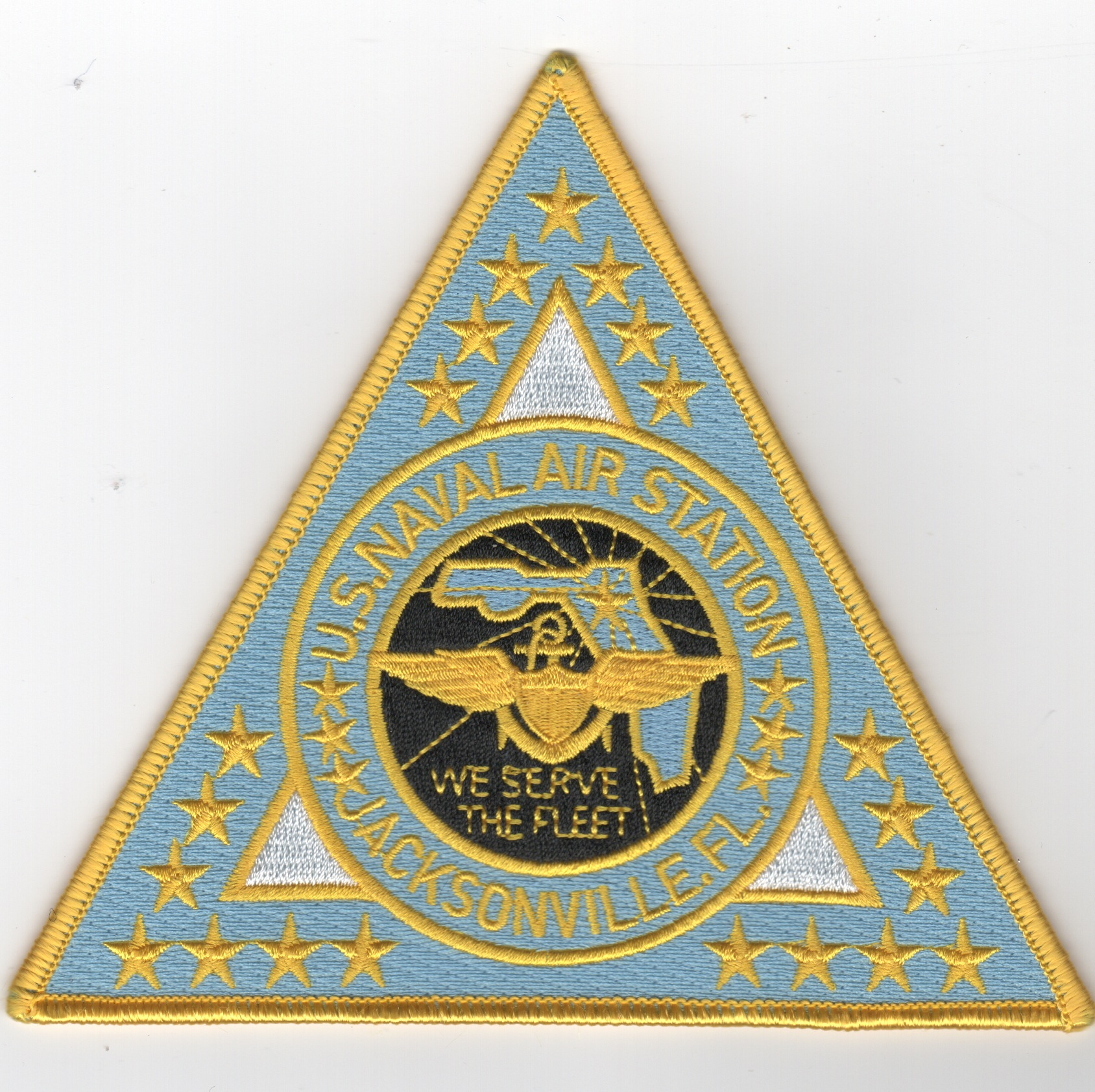 NAS Jacksonville Base Patch (Lt Blue)