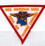 NAS Meridian, MS Patch (No Velcro)