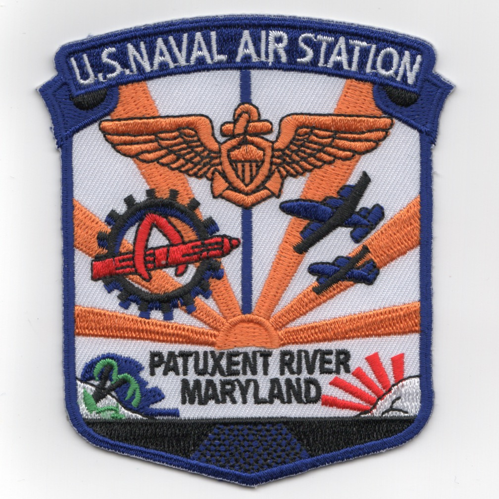 Naval Air Station Pax River Patch (SHIELD)