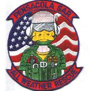 Naval Air Station Pensacola SAR Patch