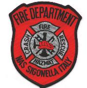 NAS Sigonella Fire Dept. Patch