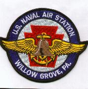 NAS Willow Grove Patch (Round)