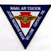NAS Willow Grove Patch (Triangle)