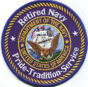 Retired NAVY - Proud
