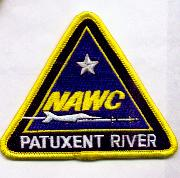 NAWC - Pax River Patch (Yellow Border)