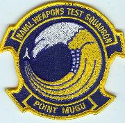 Naval Weapons Test Sq (Pt. Mugu) Patch