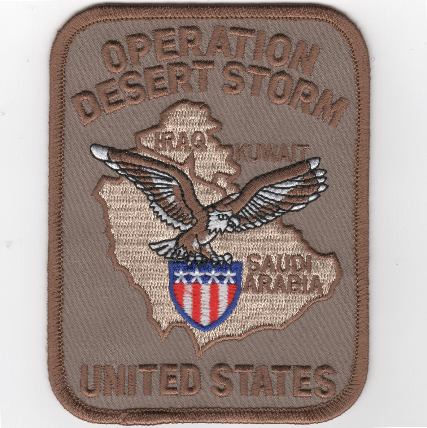 Operation DESERT STORM Patch (Rect/Des)