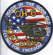 OH-6 Cayuse 'FFF/Made in the USA' Patch