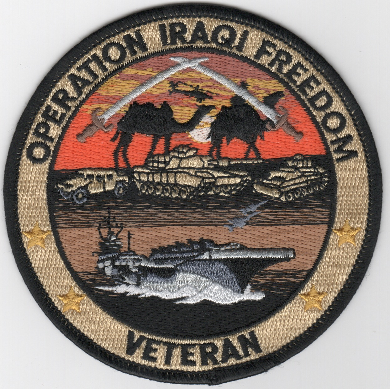 Operation IRAQI FREEDOM (Army/CVN/Round)
