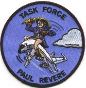 Paul Revere Task Force Patch