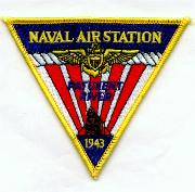 Naval Air Station Pax River Patch (Triangle)