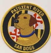 Pax River SAR Dog Patch