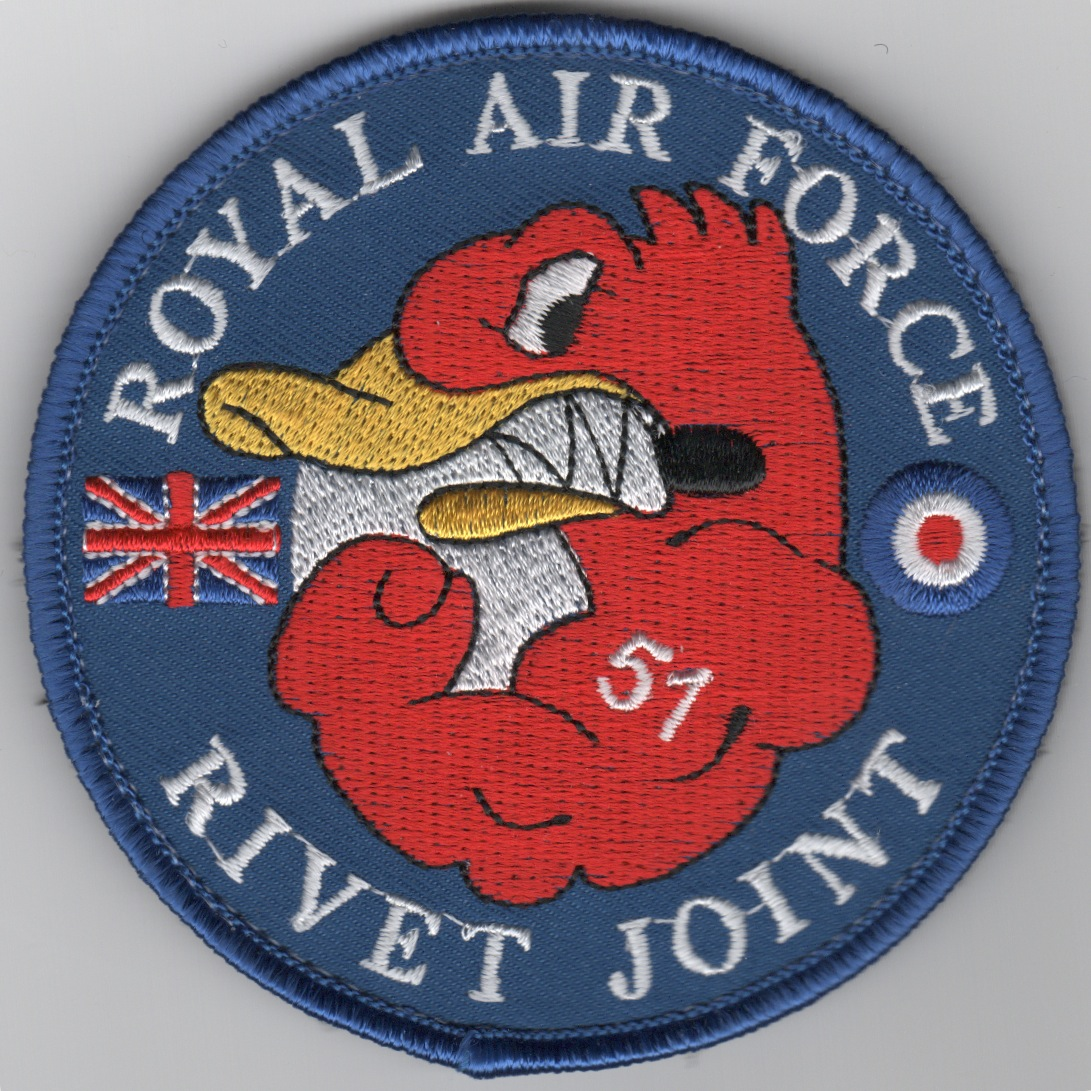 RAF Rivet Joint '51 Squadron' Patch