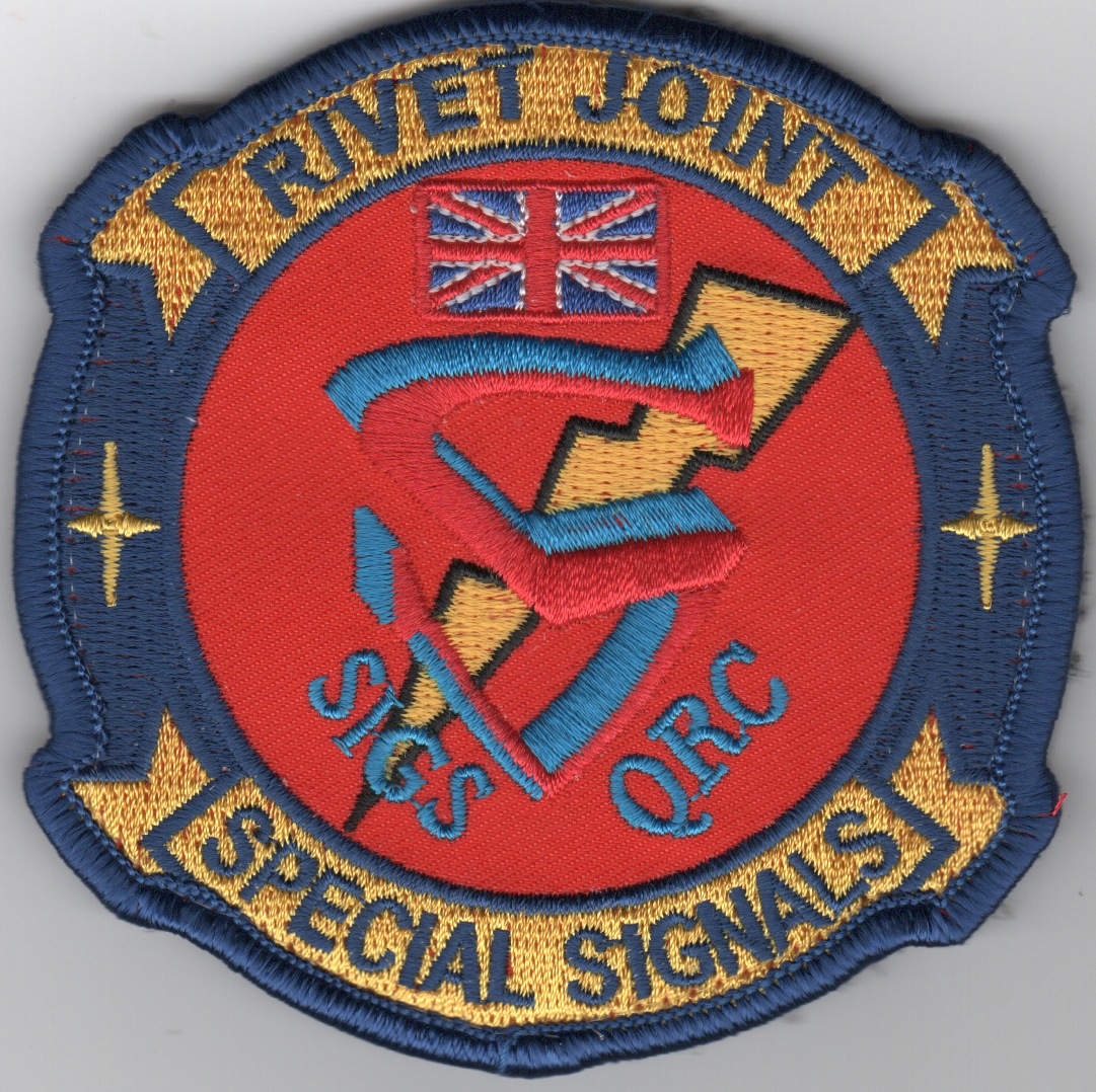 RAF Rivet Joint 'Special Signals' Patch