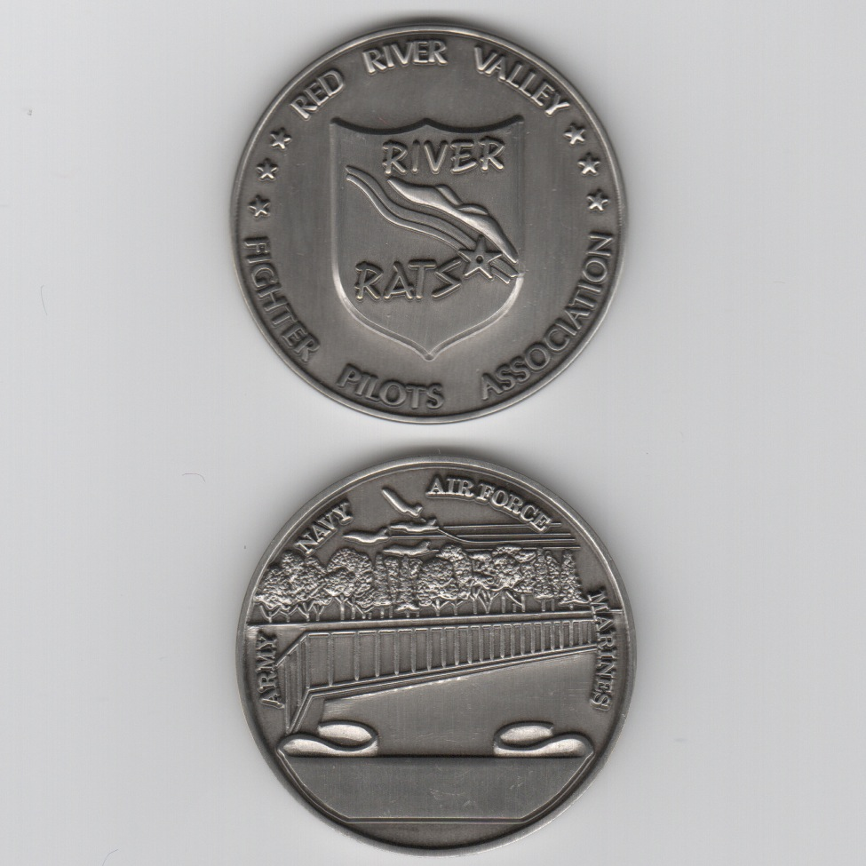 RRVA Coin (Brushed Nickel)