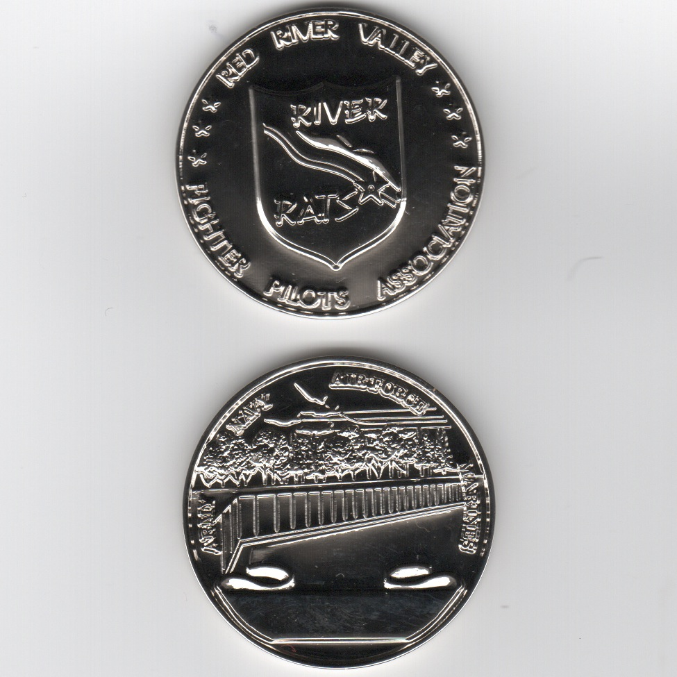 RRVA Coin (Shiny Chrome)
