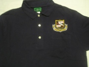 RRVA Black Polo shirt