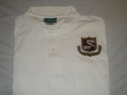 RRVA White Polo shirt