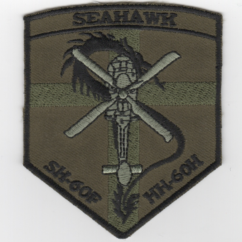SH-60F/HH-60H Shield (Subd Cross) Patch