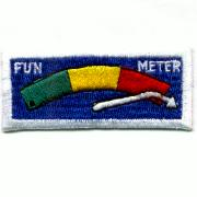 Flight Suit Sleeve - Fun Meter (Wht/Blue)