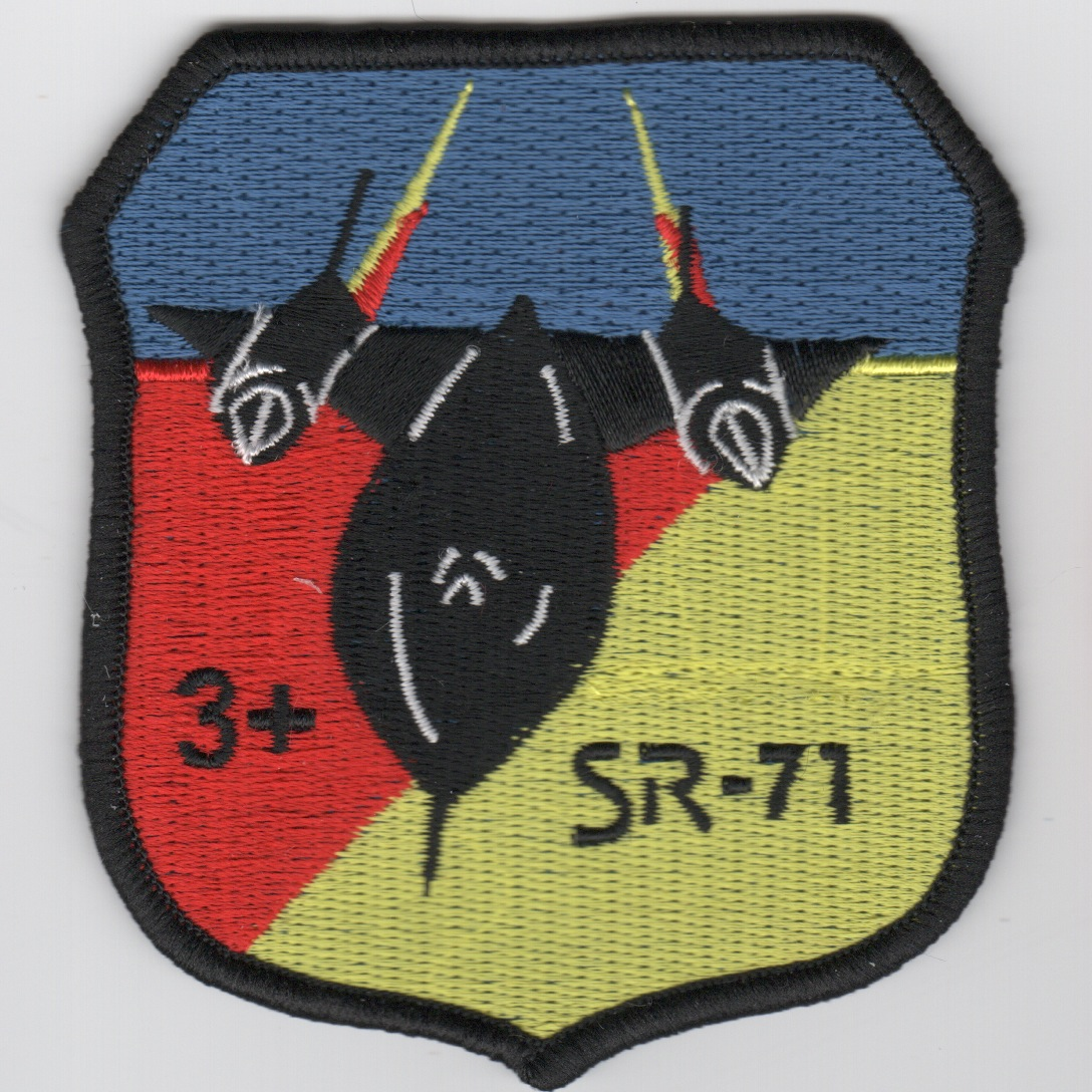 SR-71 '3+' Patch (Crest)