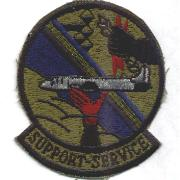 USAF Support Services Patch (Subdued)