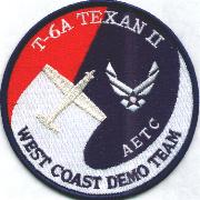 T-6 Texan West Coast Demo Team