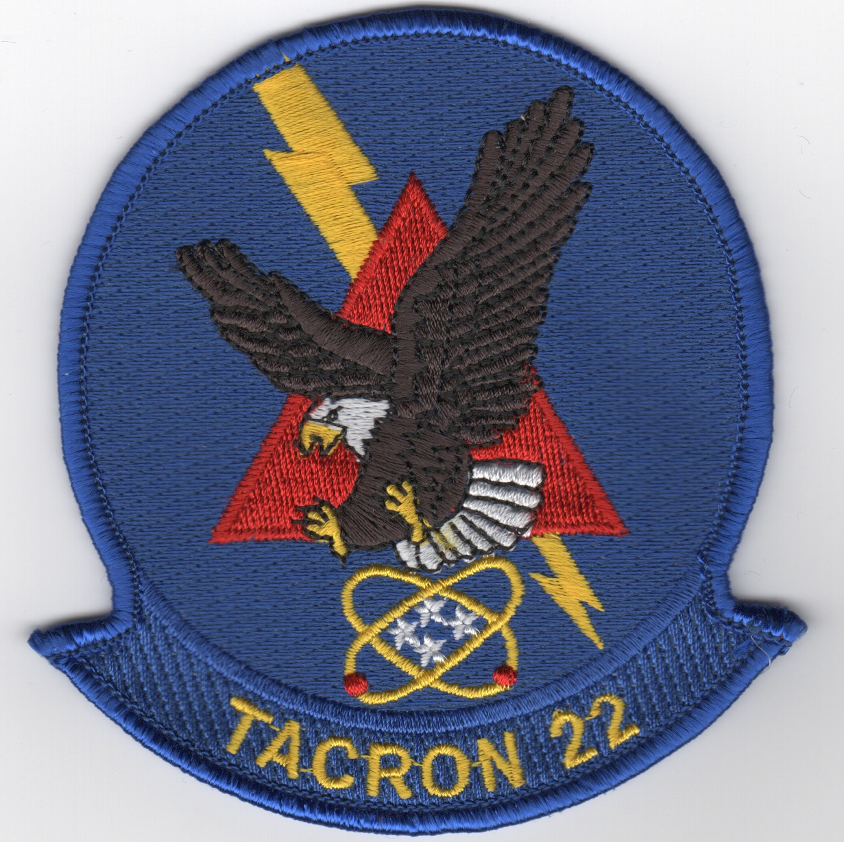 TACRON-22 Squadron Patch (Blue)