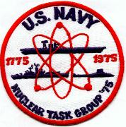 Nuclear Task Group '75 Patch