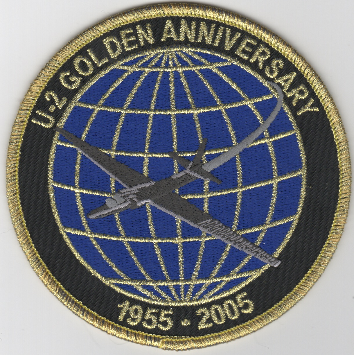 U-2 '50th Anniversary' Patch