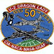 U-2 50th Anniversary Patch