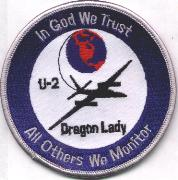 U-2 Dragon Lady (Blue/White Border)