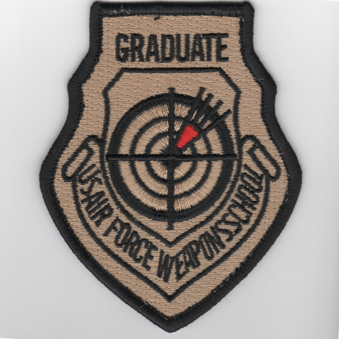 USAF WIC Instructor Patch (Des/No Velcro)