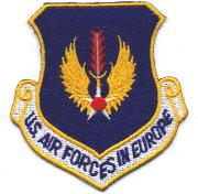 US Air Forces in Europe Crest (Color)